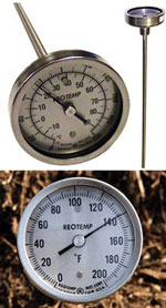 Compost Thermometers at the Humanure Store